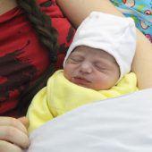 Neujahrsbaby Noelia
