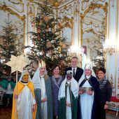Besuch in der Hofburg