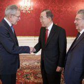 Staatsmänner in der Hofburg
