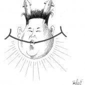 Nordkoreanischer Smiley!