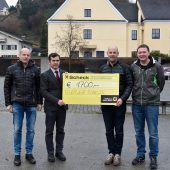 Florianijünger spenden für Hilfswerk