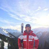 Mit Begeisterung Skilehrer