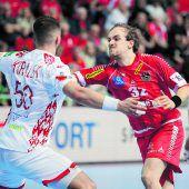 26:27-Niederlage für Österreichs Handballer gegen Weißrussland beim EM-Start. C3