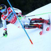 Sieg im Slalom, für Marcel Hirscher ist Wengen kein weißer Fleck mehr. C1