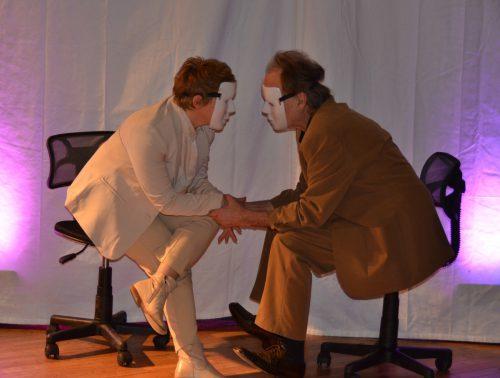 """Jonigks """"Täter"""" ist derzeit im Theater Wagabunt zu sehen; das Thema ist so tabuisiert wie es real ist: Kindesmissbrauch. Wagabunt"""