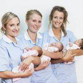 Stadtspital bei Geburten voran