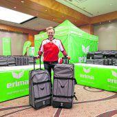 Viel Gepäck für Olympia