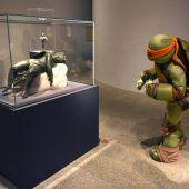 Turtle im Museum
