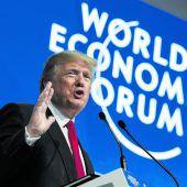 Trump rührt Werbetrommel