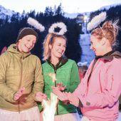 Auch diese Engel hatten ihre himmlische Freude mit der Frauen Skitour Gaudi. A8