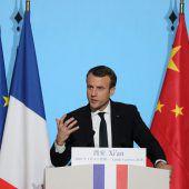 Macron will engere Kooperation mit China