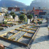 Neue Erdurnengräber in Götzis