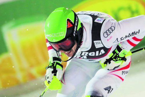 Freute sich nach Halbzeitführung in Zagreb über Platz zwei: Michael Matt.gepa