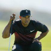 Woods ist zurück auf Profi-Golftour