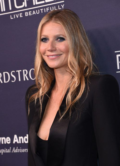 Gwyneth Paltrow attends the 2017 Baby2Baby gala at 3labs in Culver City, November 11, 2017. / AFP PHOTO / CHRIS DELMAS