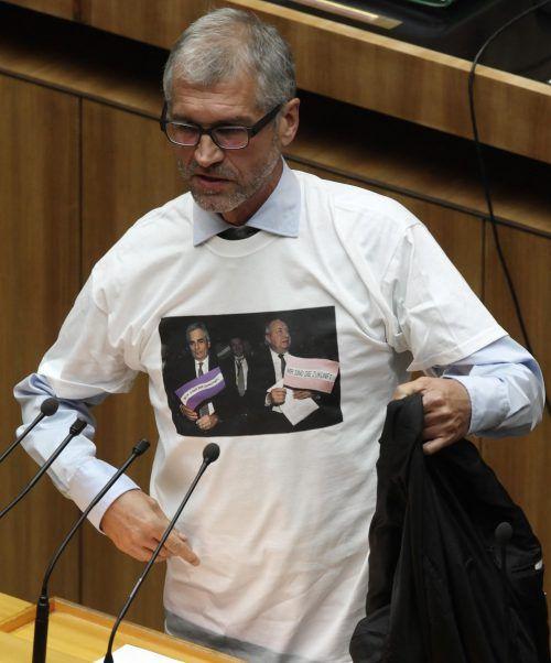 Harald Walser saß neun Jahre lang für die Grünen im Nationalrat. APA
