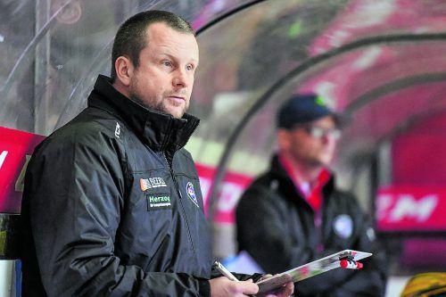 Hat Probleme, eine Mannschaft aufzubieten: VEU-Coach Michael Lampert.lerch