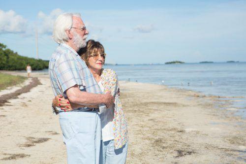 Helen Mirren und Donald Sutherland spielen ein altes Ehepaar auf den Spuren des eigenen Lebens. Studio