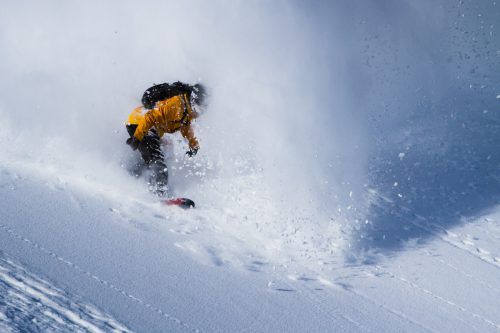 Snowboarder Thomas Feurstein fuhr in Kanada auf Platz sechs.Hadwinger