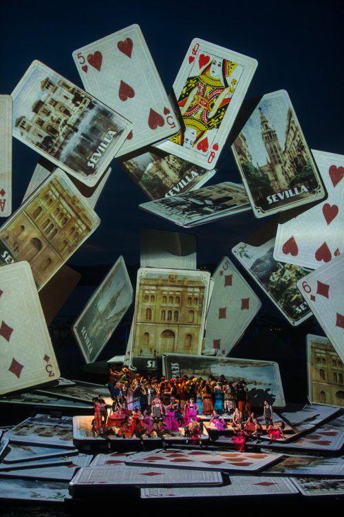 """Im vergangenen Jahr waren sämtliche 28 """"Carmen""""-Aufführungen ausverkauft. VN/Steurer"""