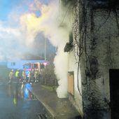 Feuerteufel zündelt in Frastanz
