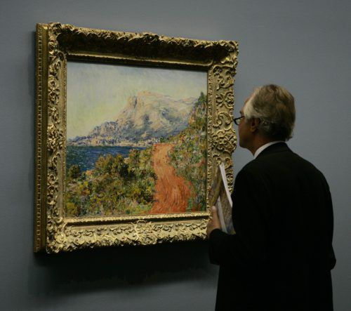In der Wiener Albertina sind Werke von Claude Monet zu sehen. ap