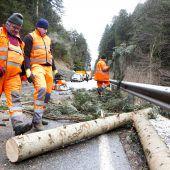 Sturmtief Evi legte Bahnverkehr lahm
