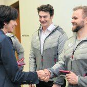Für Vorarlberger Olympiateilnehmer beginnt der Countdown