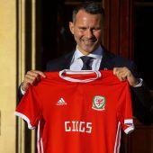 Giggs ist neuerTeamchef von Wales
