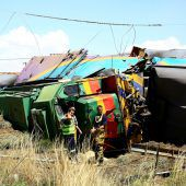 18 Tote, 260 Verletzte bei Zugunglück