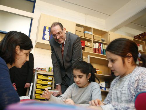 Der frühere Bildungsminister Heinz Faßmann hat anstelle desIntegrationstopfs die Deutschförderklassen eingeführt.APA