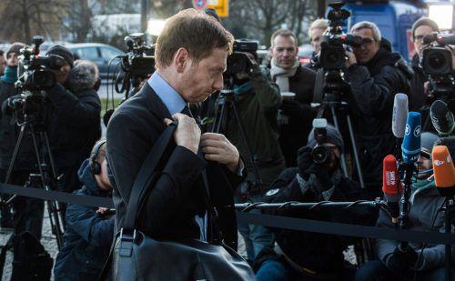 Ministerpräsident Kretschmer (CDU) sorgte mit seiner Aussage für Wirbel. AFP