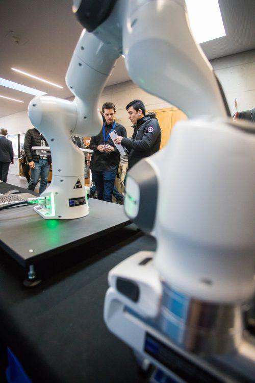 Neben vielen Jobangeboten konnten die Topunternehmen mit neuester Technologie trumpfen. VN/Steurer