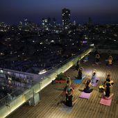 Yoga an besonderen Orten