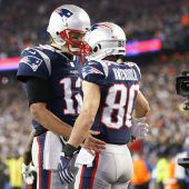 Philadelphia gegen Patriots um Super Bowl