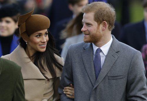 Prinz Harry und Meghan Markle wollen am 19. Mai auf Schloss Windsor heiraten. Die Trauung dürfte Tausende zusätzliche Besucher locken. AP