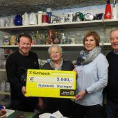 5000 Euro für bedürftige Thüringer