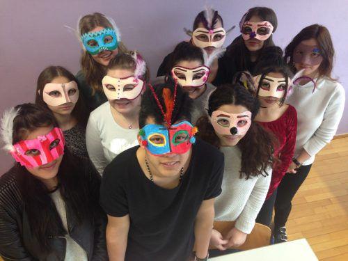 Schüler beschäftigen sich mit ihrer Identität.