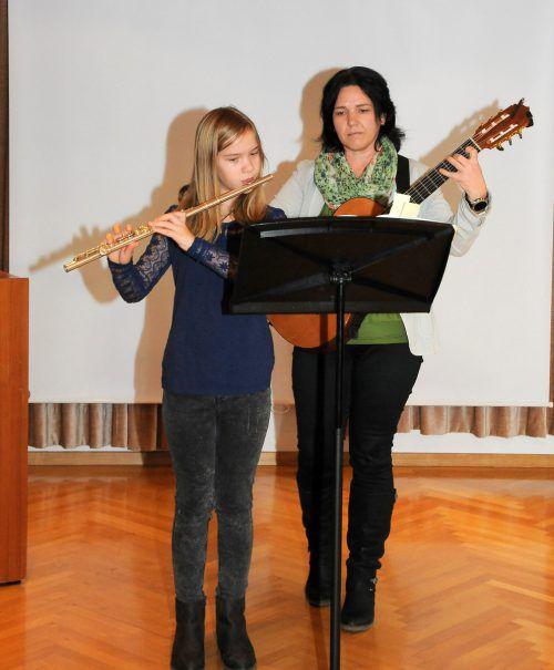 Selina Bader und Evelyn Zach.