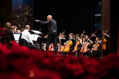 Das Jugendsinfonieorchester Dornbirn läutet das neue Jahr mit einem Konzert ein. vn/steurer