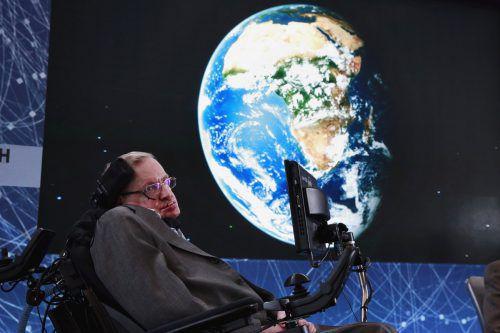 Stephen Hawking widmet sich düsteren Prophezeiungen.reuters