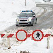 10.000 Urlauber sitzen in Vorarlberg fest