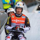Für Steu/Koller liegt in Oberhofdas Olympiaticket im Eiskanal