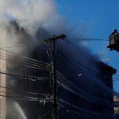 Erneut schwerer Brand in der Bronx