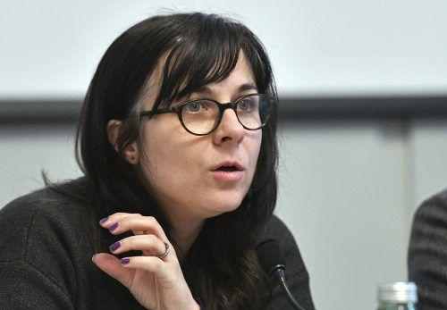 Vasilena Gankovska von der IG Bildende Kunst fand klare Worte. apa