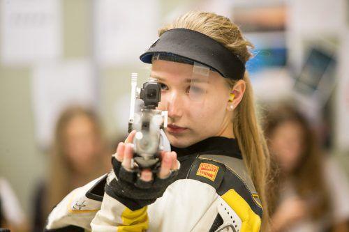 Verena Zaisberger erfüllte bei der ÖSB-Qualifikation die EM-Norm.VN/Sams