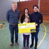Bastelaktion brachte 2000 Euro für Geben für Leben ein
