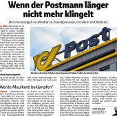 Auf die Post-Soko folgt Klage gegen Gewerkschafter