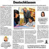 Deutsch lernen in Förderklasse