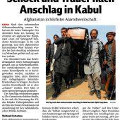 Afghanistan ist kein sicheres Rückkehrland